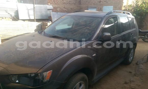 Buy new and used Mitsubishi Outlander Black Car in Mogadishu in Somalia