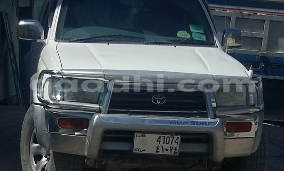 Buy Toyota Hilux Surf White Car in Hargeysa in Somaliland