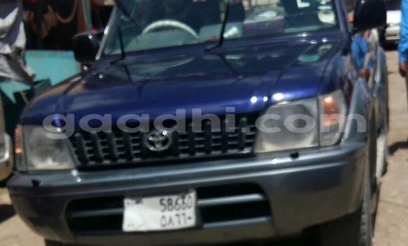 Buy Toyota Land Cruiser Blue Car in Hargeysa in Somaliland