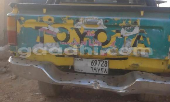 Buy Toyota Hilux Green Car in Hargeysa in Somaliland