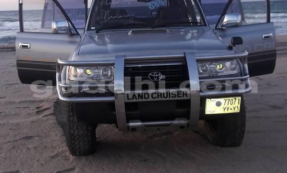Buy Toyota 4Runner Silver Car in Hargeysa in Somalia