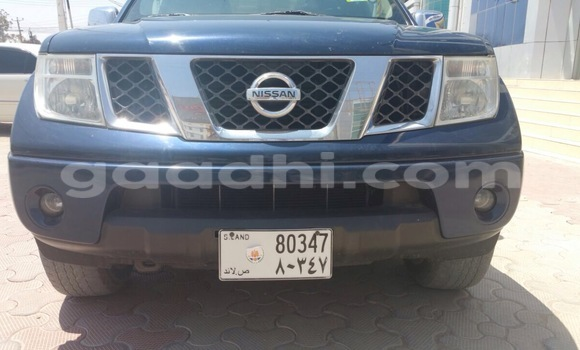 Buy new and used Nissan Navara Blue Car in Hargeysa in Somaliland