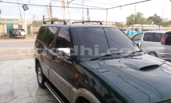 Buy new and used Nissan Terrano Green Car in Hargeysa in Somaliland